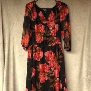 ANA Floral dress medium